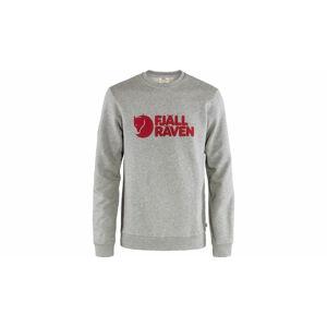 Fjällräven Logo Sweater M Grey Melange světlehnědé F84142-020-999