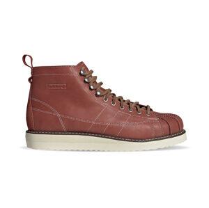 adidas Superstar Boot Wild Sepia/Off White/Brown hnědé FZ2642