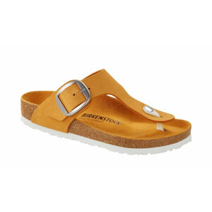 Birkenstock Gizeh Big Buckle NU Apricot Regular Fit hnědé 1018765