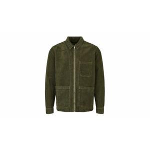 By Garment Makers The Organic Corduroy Jacket zelené GM131503-2888