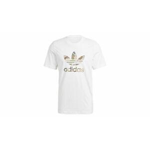 adidas Camo Trefoil T-Shirt White/Wild Pine Mel/Multicolor bílé GN1855