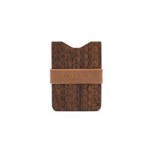 Gunton Wooden Wallet hnědé gunton_geo_8