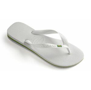 Havaianas Brasil bílé H4000032-0001P