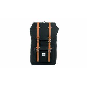 Herschel Supply Little America Black Tan Synthetic Leather černé 10014-00001-OS