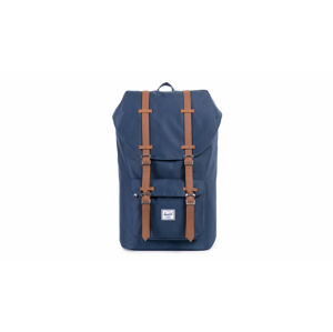 Herschel Supply Little America Navy Tan Synthetic Leather modré 10014-00007-OS