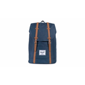 Herschel Supply Retreat Navy Tan Synthetic Leather modré 10066-00007-OS
