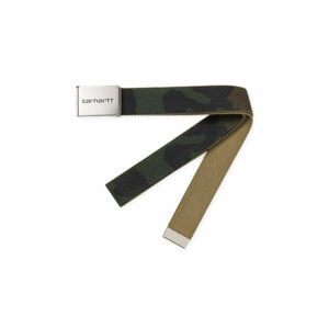 Carhartt WIP Clip Belt Chrome - Camo Laurel zelené I019176_64000