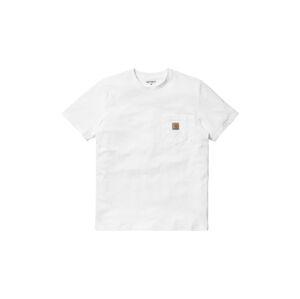 Carhartt WIP S/S Pocket T-Shirt White  bílé I022091_02_00