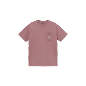 Carhartt WIP S/S Pocket T-Shirt Malaga  růžové I022091_0AE_00