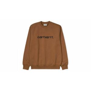 Carhartt WIP Sweatshirt - Hamilton Brown hnědé I027092_HZ91