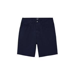 Carhartt WIP Newel Short Blue hnědé I027952_01_GD