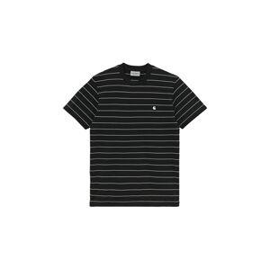 Carhartt WIP S/S Denton T-Shirt Black černé I028925_89_90