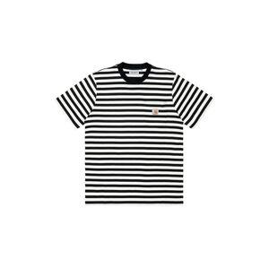 Carhartt WIP S/S Scotty Pocket T-Shirt Black černé I029000_89_90