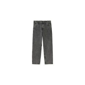 Carhartt WIP Single Knee Pant Hammer (Crater Wash) modré I029153_0EY_ZF