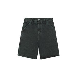 Carhartt WIP Single Knee Short Deep Lagoon  hnědé I029154_0AU_ZF