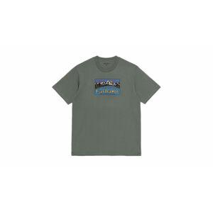 Carhartt WIP Great Outdoor T-Shirt Thyme S/S zelené I029609_0EH_XX