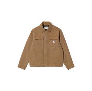 Carhartt WIP W Arkansas Jacket Hamilton Brown světlehnědé I029772_HZ_3K