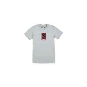 Chrome Industries Lock Up T-Shirt šedé AP-143-HGY