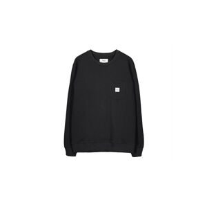 Makia Square Pocket Sweatshirt černé M41073_999