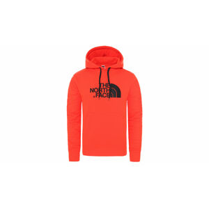 The North Face M Drew Peak Pullover Hoodie - Eu Fiery Red/Tnf Black oranžové NF00AHJYWU5