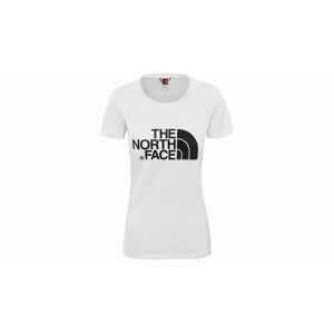 The North Face W S/S Easy Tee - Eu Tnf White/Tnf White bílé NF00C256LG5