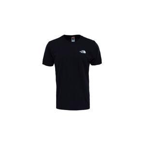 The North Face M S/S Redbox Celebration Tee - Eu Tnf Black/Hero Purple modré NF0A2ZXEQ27