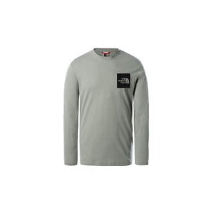 The North Face M Fine Tee Wrought Iron šedé NF0A37FTHDF1