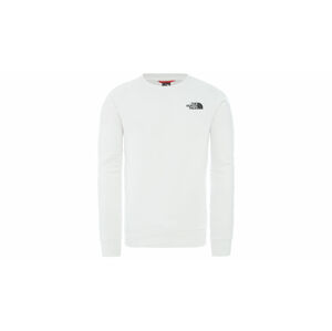 The North Face M Raglan Redbox Crew - Eu Tnf White/Flame Orange bílé NF0A3RZ2P9V