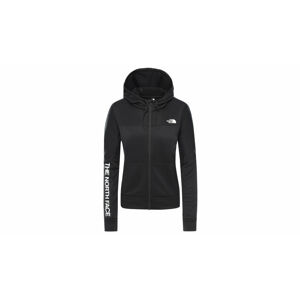 The North Face W Train N Logo Full Zip -Eu Tnf Black černé NF0A4APUJK3