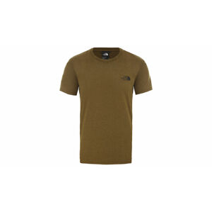 The North Face M Reaxion Red Box Tee zelené NF0A4CDWHSD