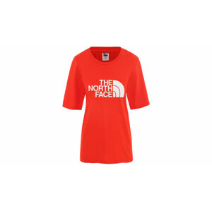 The North Face W Bf Easy Tee Fiery Red červené NF0A4M5P15Q