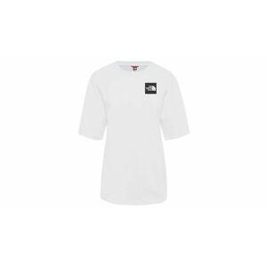 The North Face W Boyfriend Fine T-shirt bílé NF0A4SYAFN4