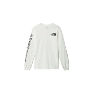 The North Face M Coordinates LS Tee bílé NF0A55VCFN41