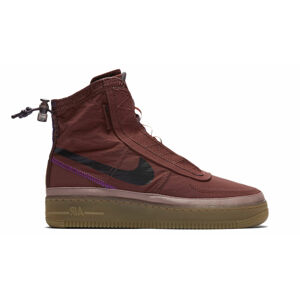 Nike W Air Force 1 shell wmns hnědé BQ6096-200