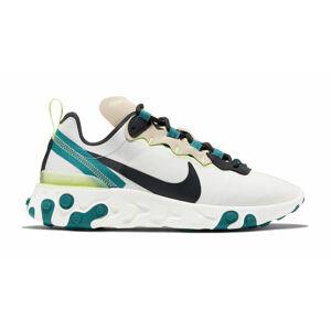 Nike W React Element 55 bílé BQ2728-202