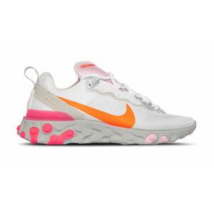 Nike W React Element 55 bílé CV3035-100