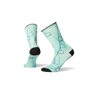Smartwool Curated Ski Lift Crew Socks Women´s modré SW003925150