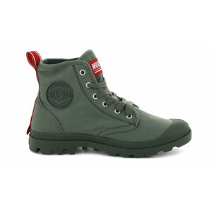 Palladium Boots Pampa Hi Dare Olive Night zelené 76258-325-M