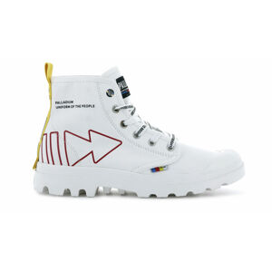 Palladium Pampa Dare Rew fwd Star White bílé 76862-116-M