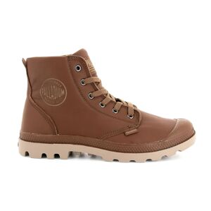 Palladium Pampa Hi Leather hnědé 72355-734-M
