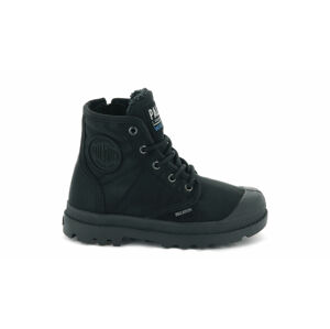 Palladium Pampa Hi Tex WL Waterproof Kids černé 56033-040-M