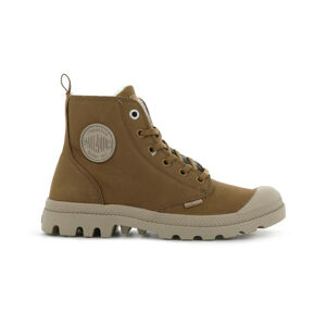 Palladium Pampa Hi Zip Wool hnědé 95982-252-M