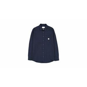 Makia Square Pocket Shirt modré M60121_670