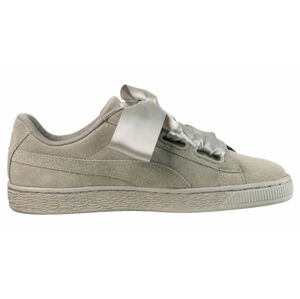 Puma Suede Heart Pebble šedé 365210-02
