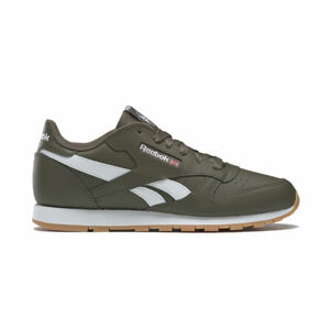 Reebok Classic Leather Army Green White zelené DV9610