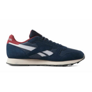 Reebok Classic Leather Navy Red modré CN7178