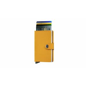Secrid Miniwallet Crisple Amber žluté MC-Amber
