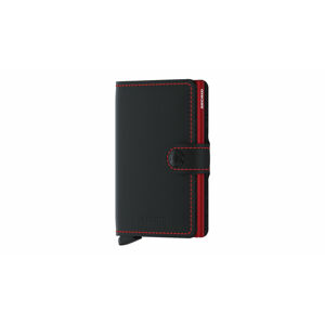 Secrid Miniwallet Matte Black & Red černé MM-Black-Red