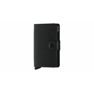 Secrid Miniwallet Perforated Black černé MPF-Black