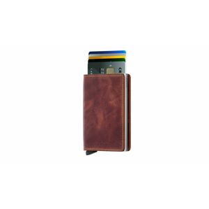 Secrid Slimwallet Vintage Brown hnědé SV-BROWN